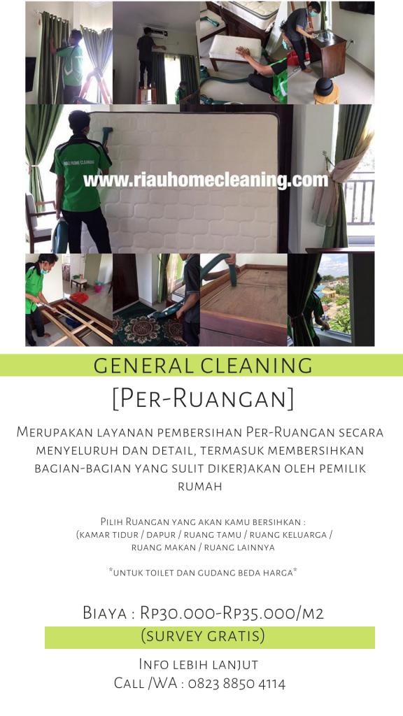 harga general cleaning per-ruangan di batam