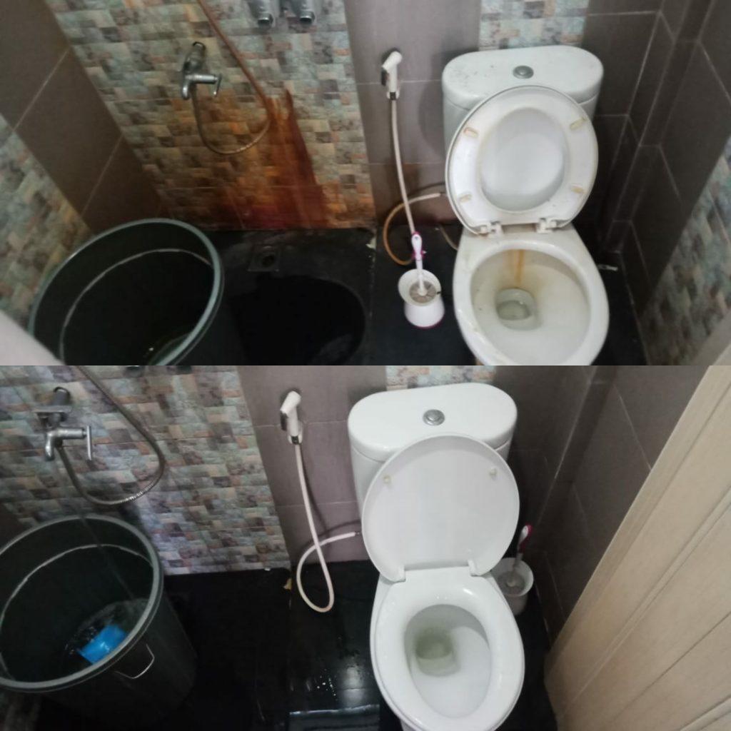 jasa bersih kamar mandi batam