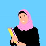 islamic, woman, hijab